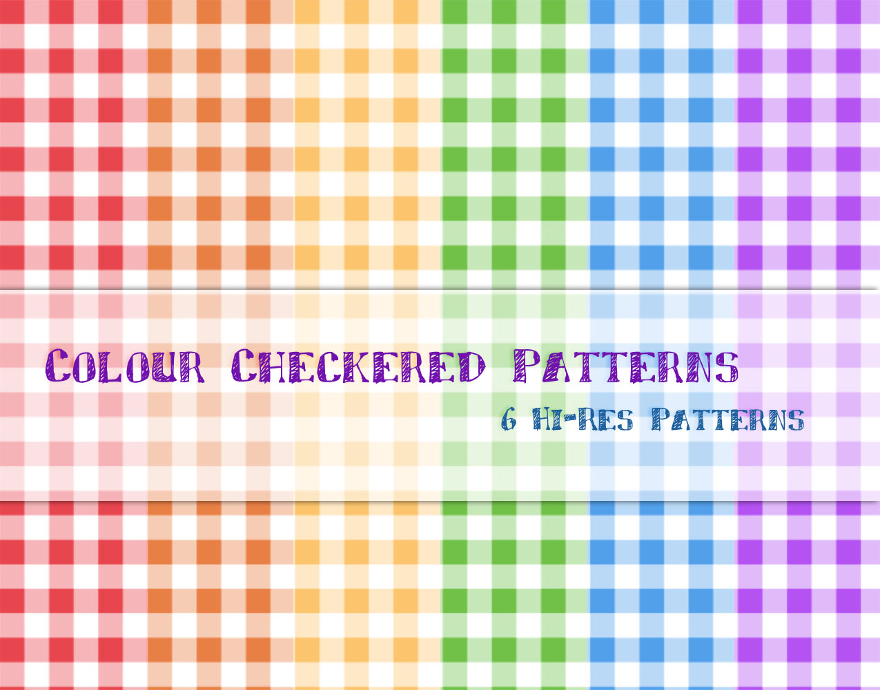 Colour Checkered Patterns