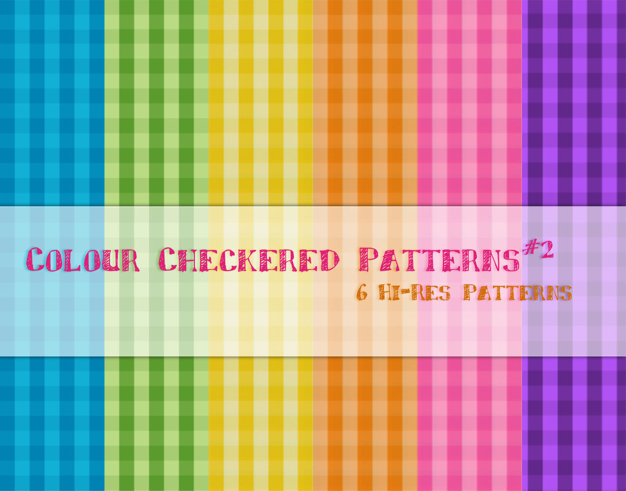 Colour Checkered Patterns2