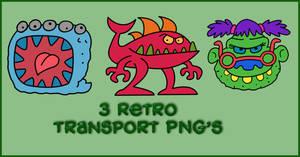 Monster PNGs by powerpuffjazz