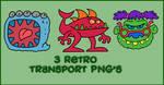 Monster PNGs