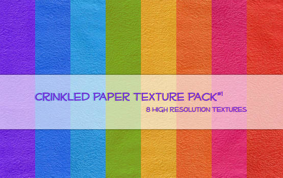 Crinkled Paper Texture Pack1