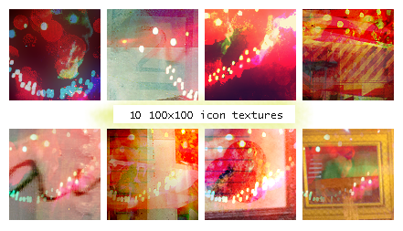 Icon Textures 3 by Lizzie-Doodle