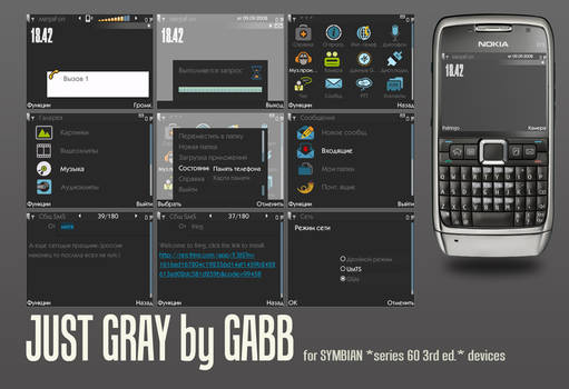 Just gray by Gabb