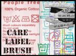 Care Label Brush