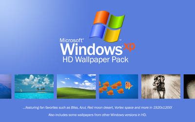 Windows XP HD Wallpaper Pack