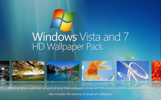 Windows Vista and 7 HD Wallpaper Pack