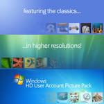 Windows HD User Account Picture Pack