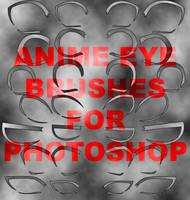Anime Eye Brushes by KAR10SA