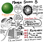 Manga Studio 5 Brushes