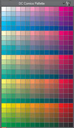 Official DC Comics Colors (for Manga Studio) by TheInkyWay