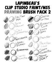 Lapinbeau's Clip Studio Paint Brush Pack 2