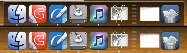 Transparent Dock by my1loverkid