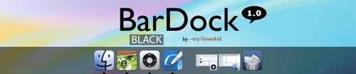 Black BarDock by my1loverkid
