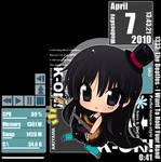 Mio Akiyama 3 Rainmeter