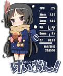 Mio Akiyama 4 Rainmeter