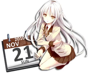 Kanade Tachibana Calendar by Kaza-SOU