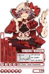 Remilia Scarlet Rainmeter