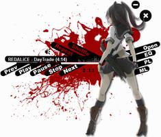 Assassin Girl 2 Winamp by Kaza-SOU