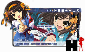 Suzumiya Haruhi 2 Winamp by Kaza-SOU