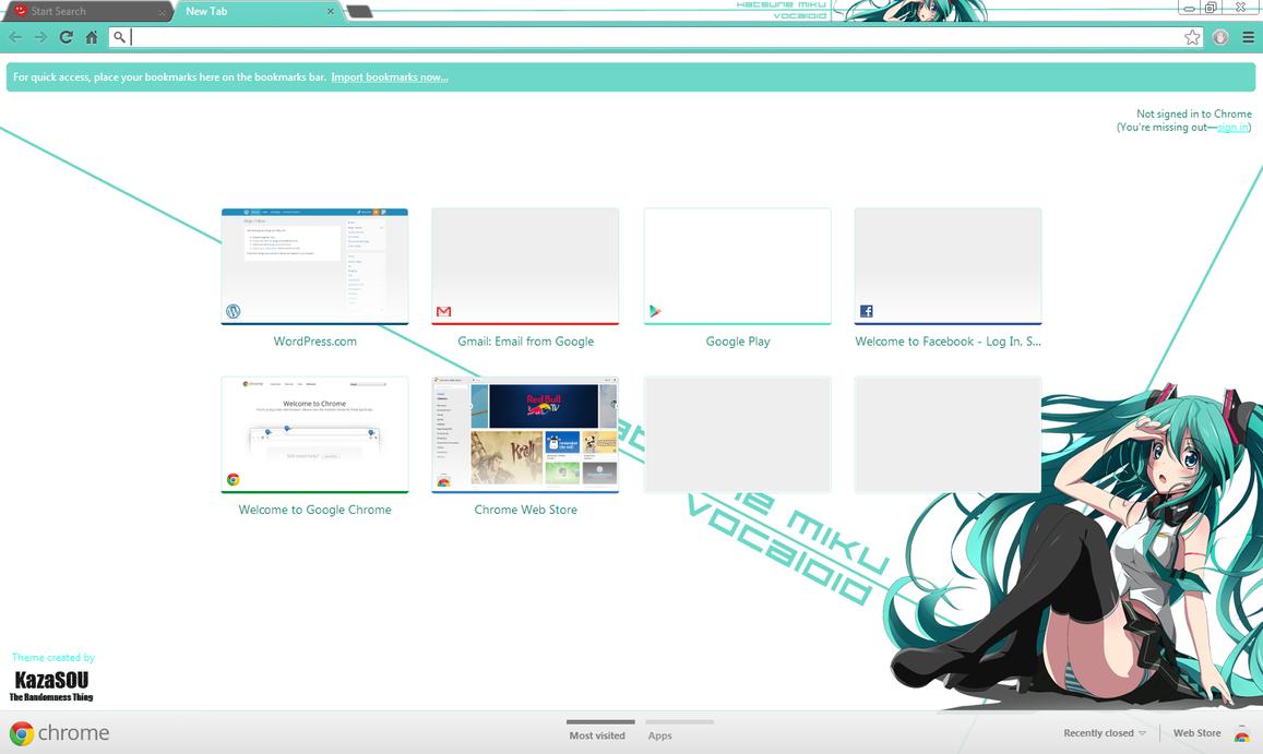 Gmail theme missing - Hatsune Miku 8 Crx By Kaza Sou