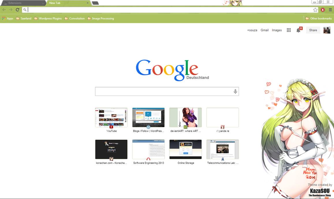 Google themes elsword - Lena Crx By Kaza Sou