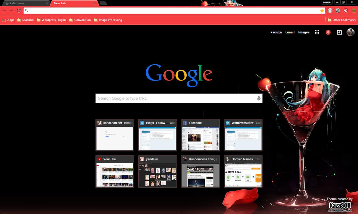 Themes za google - Hatsune Miku 15 Crx By Kaza Sou