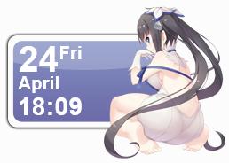 Hestia Calendar by Kaza-SOU