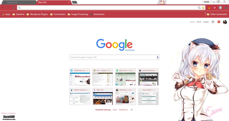 Google themes nba - Kashima 2 Chrome By Kaza Sou