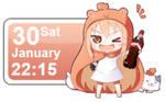 Umaru-chan Calendar