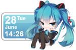 Hatsune Miku Calendar 12