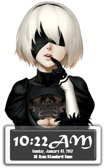 2B Clock
