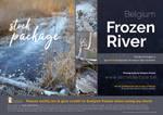 Stock package Frozen river Belgium by secretdartiste-stock