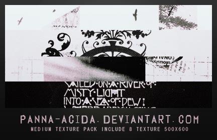 Texture Pack 08 by panna-acida