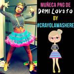 Muneca PNG #O3 [Demi Lovato]