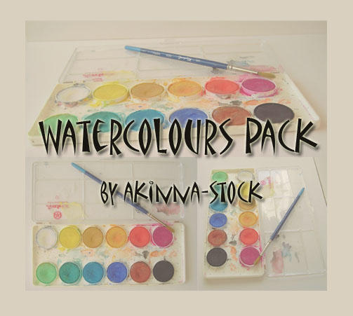 watercolours pack by akinna-stock