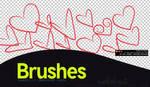PS Brush-3 Hearts