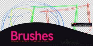 PS Brush-5 doodle Frames