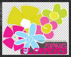 PNG  Flowers-1 by oridzuru