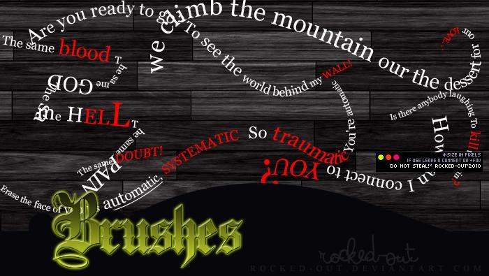 PS Brush-9 TH Lyrics by oridzuru