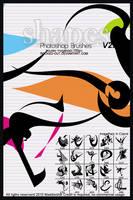 PS Brush-17 Color Shapes by oridzuru