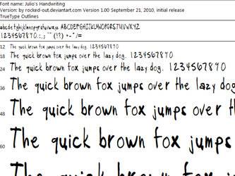 Julio's Handwriting.ttf