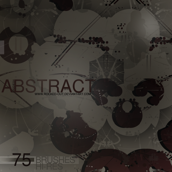 75 Abstract Brushes II