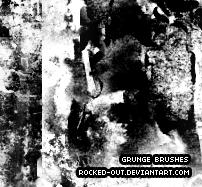 Grunge Brushes by oridzuru