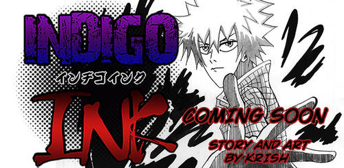 Indigo Ink Manga - COMING SOON