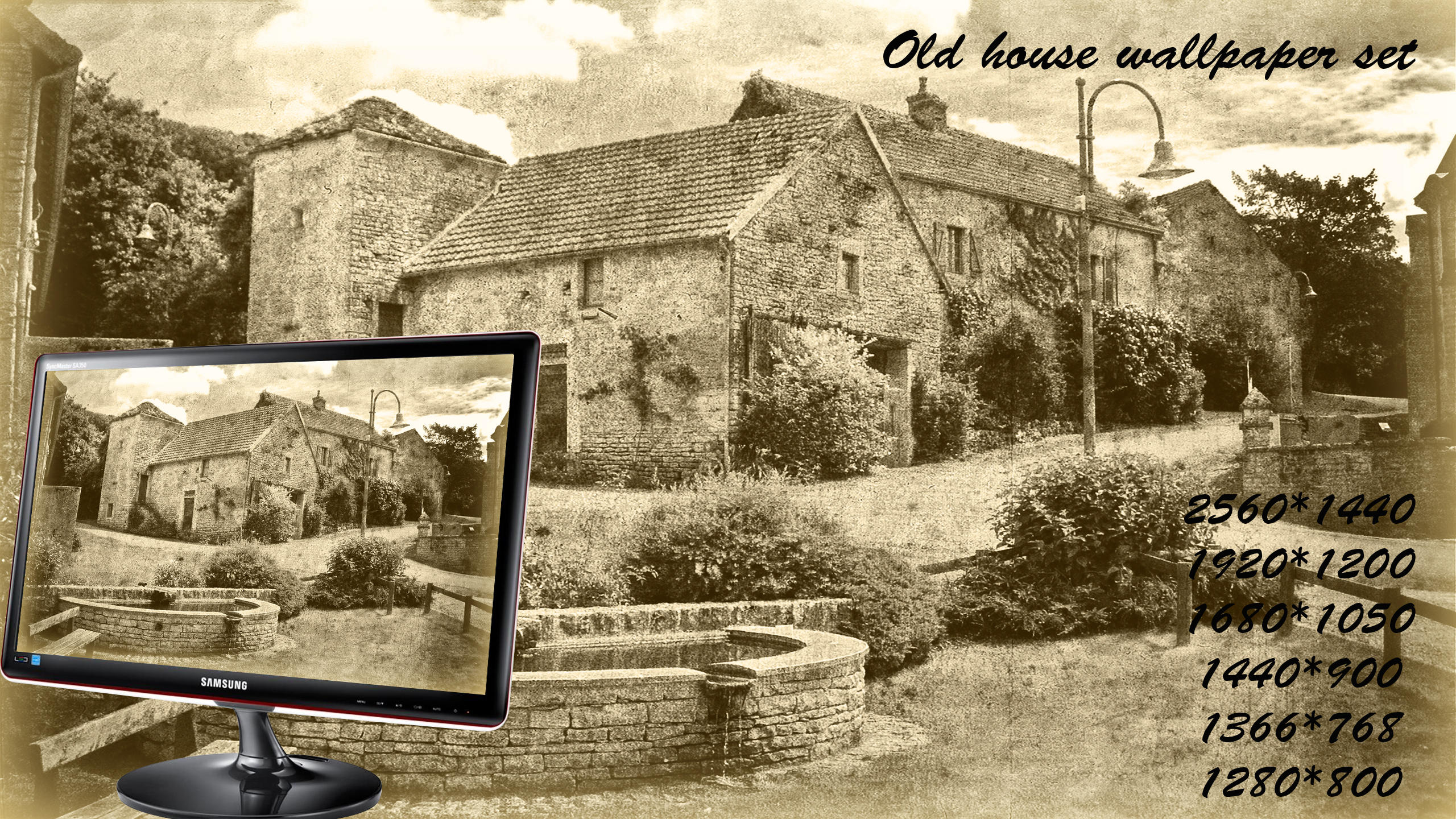 Old house wallpaper by qamu74 on deviantart for Classic house wallpaper