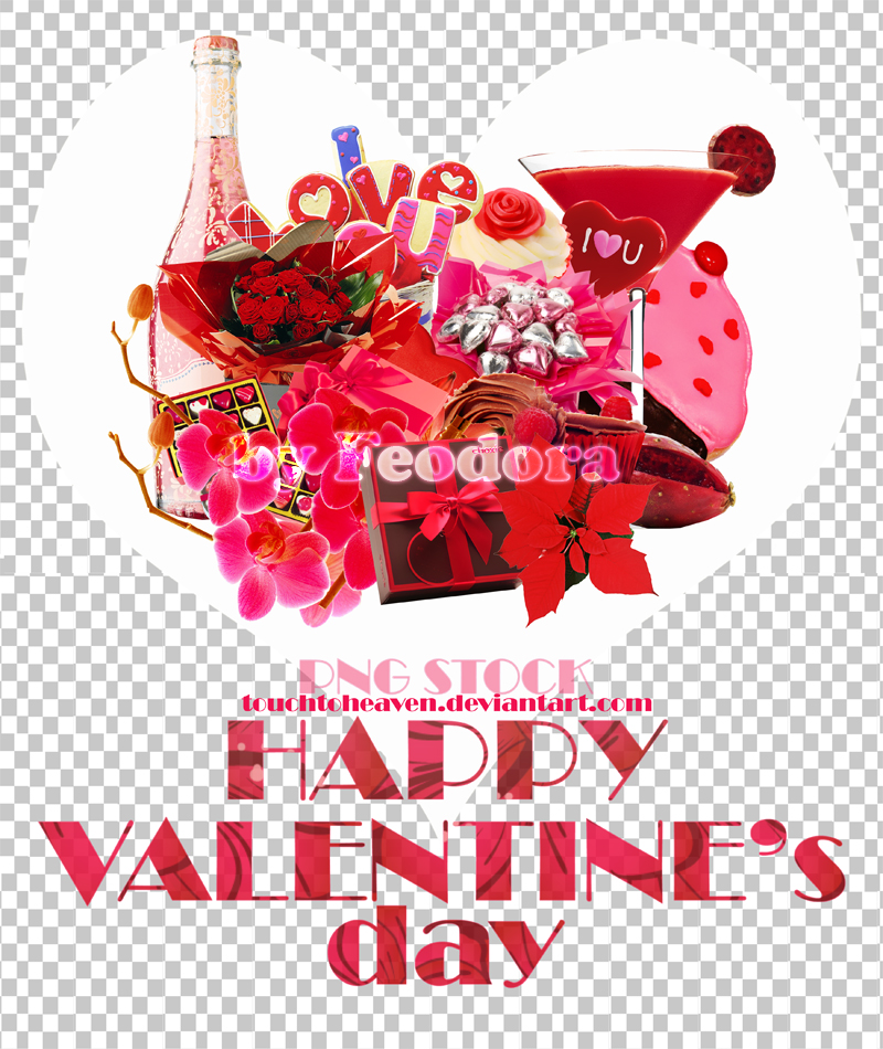 Valentine's day png pack
