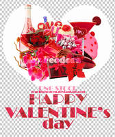 Valentine's day png pack by touchtoheaven