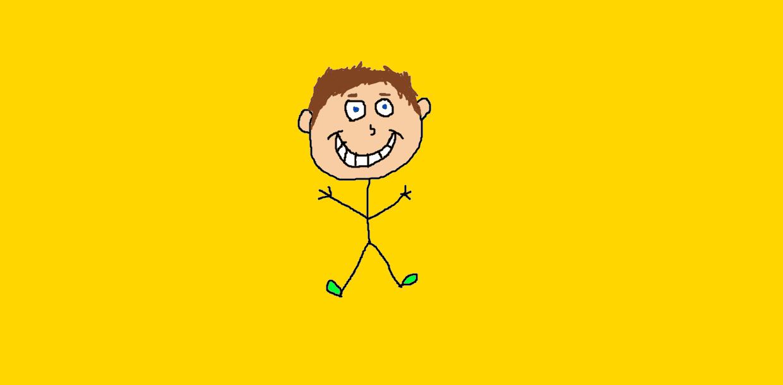 Random Stick Figure Dude by NickelodeonLover