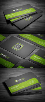 Free Rounded Corporate Business Card