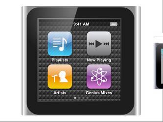 iPod Nano 6th Gen by SantiagoLP98